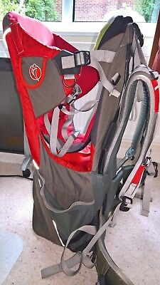 5928528b815 Little Life Cross Country S2 Baby Child Carrier Backpack + Shade & Raincover