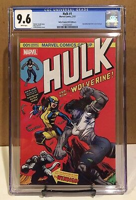 Hulk #1 Hall Of Comics/CBCS Edition A Ed McGuinness Cover CGC 9.6 Homeage