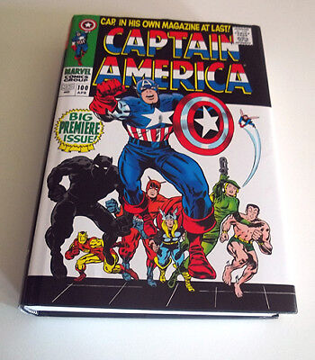 Captain America Omnibus 1 Jack Kirby Cover Edition HC