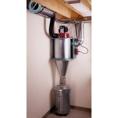 1 1/2 HP Cyclone Dust Collector