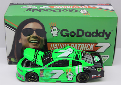 2018 Danica Patrick #7 Godaddy Last Ride Chevy Camaro 1/24 New Rare Free Ship