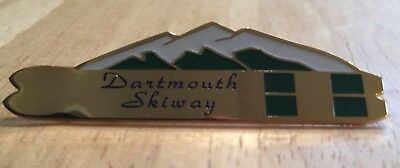 Dartmouth Skiway Vintage Pin Winter College Skiing Snow New Hampshire NH Rare