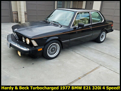 1977 BMW 3-Series E21 1977 BMW 320I 4 SPEED WITH HARDY AND BECK TURBOCHARGER! 99% RUST-FREE CA. E21!