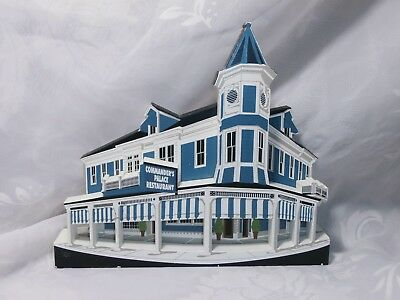 Shelia's 1998 Commander's Palace New Orleans, La. Wooden Figure Building Village