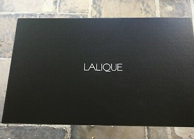 Lalique Hirondelles large Empty Box 24x14 recent purchase