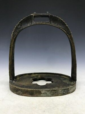 copper the stirrup on horseback ancient Chinese military commanders