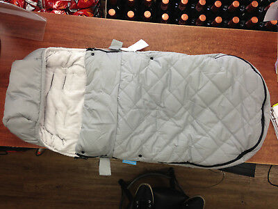 OPENED and NO PACKAGE, UPPAbaby CozyGanoosh Footmuff, Pascal Grey 817609013801