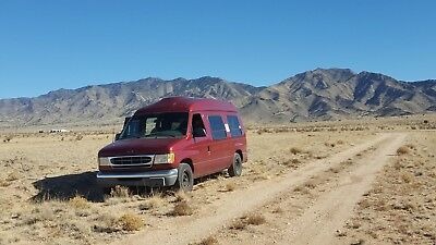 2000 Ford E-Series Van  2000 Ford E-150 Conversion Camper Van Hi-top