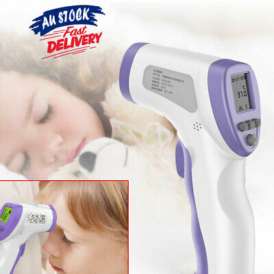 Temperature Thermometer Food Non-contact Baby Kid Adult Body IR Infrared Digital