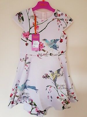 a9214a0af Ted Baker Girls' Light Pink Floral Print Dress. 4-5 Years. Designer