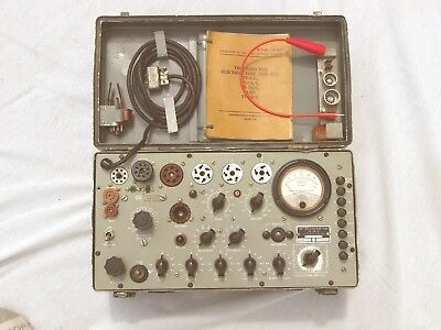 TV-7D/U Tube Tester, Excellent Working, CALIBRATED