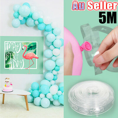 5m Decor Chain Arch Strip Tape Cake Gift Table DIY Balloon Decorating String