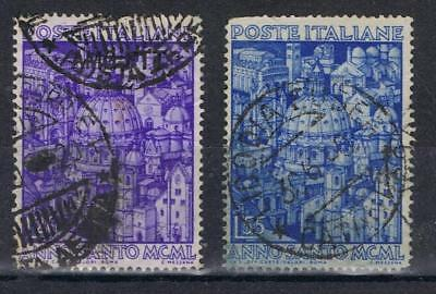 Italy 1950 Holy Year SG 746-47  Used