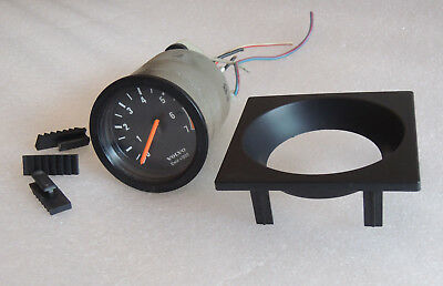 "Volvo 240 1981 to 1993 Small 2 1/16"" Accessory VDO Tachometer Hot Rat Rod tach"