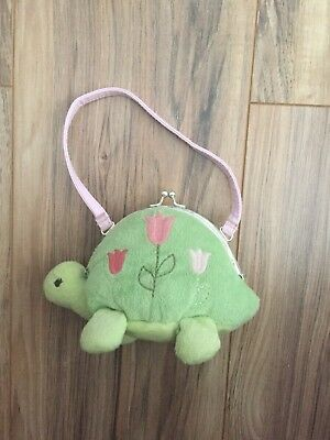 Gymboree Turtle Purse With Tulips