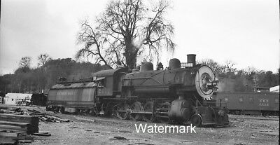 1948 NWP-SP 2612 Willits California Northwest Southern Pacific Railroad NEGATIVE