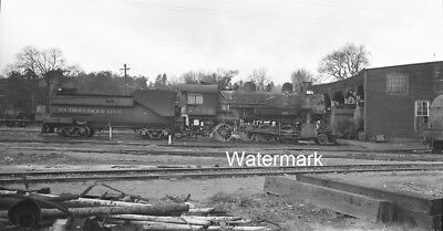 1948 SP 2806 on NWP Willits California Northwest Southern Pacific NEGATIVE