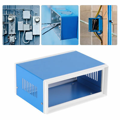 Metal Power Junction Box Electronic Enclosure Project Case Cover 80x170x130mm