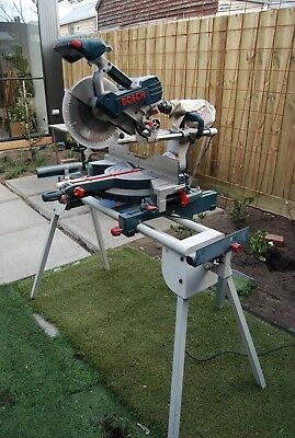 Bosch Compound Saw (Gcm10Sd) And Stand