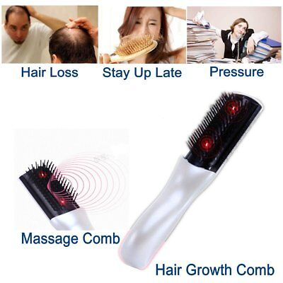 Laser Treatment Comb Anti-Hair Loss Hair Growth Regrowth Therapy Massage Brush