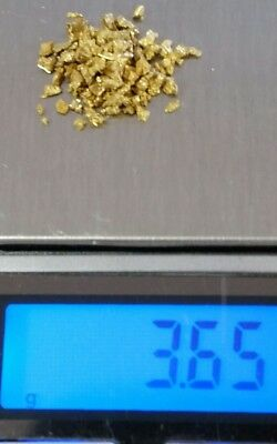 Australian Gold nuggets for sale 3.65 grams