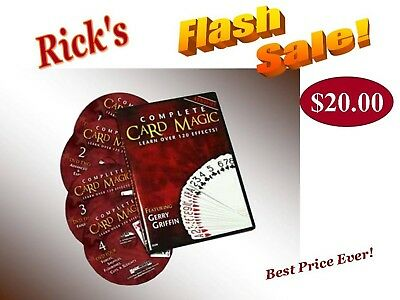 COMPLETE CARD MAGIC DVD COLLECTION -  Big Savings! -  Rick's Flash Sale!