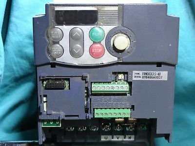 Fuji Electric Systems Drive For Parts Or Repair FRN003C1S-4U