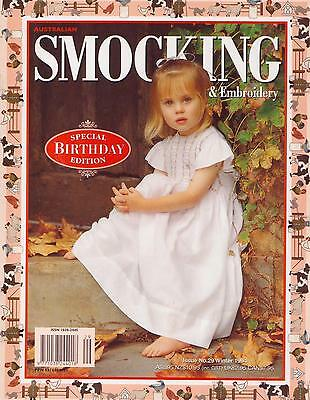 SMOKING & EMBROIDERY Issue No. 29 ~ Winter 1994 * Special BIRTHDAY Edition
