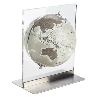NEW Zoffoli Aria Desk Globe Warm Grey 22cm