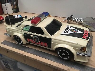 Mercedes Benz 280CE Police Car early 80s Vintage 1/10 scale
