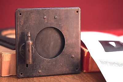 """Packard Ideal No. 5 shutter with 1.75"""" Opening"""