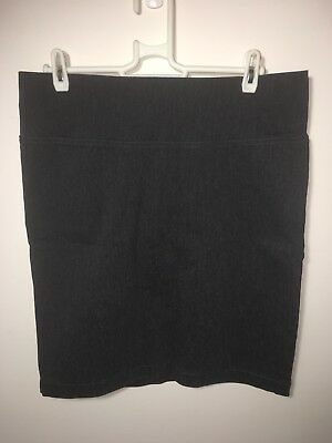 Pea In A Pod Maternity Grey Skirt Size 10 Work Office Business