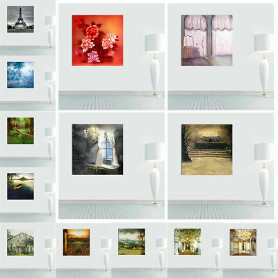 Modern Retro Art Oil Painting Picture Print Home Wall Decor Large Canvas Huge
