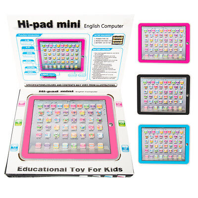 Baby Tablet Educational Multi-Functional Children English Learning Pad Toy Kids