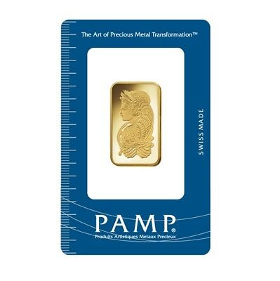 Lady Fortuna 20g .9999 Gold Minted Bullion Bar - PAMP Suisse