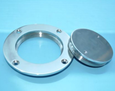 """NEW 3/"""" 316 Stainless Steel Deck Plate Boat//Marine SSDP110044"""