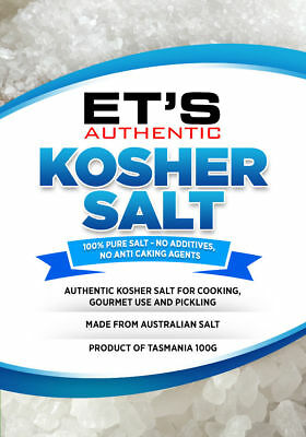 100% Australian gourmet KOSHER SALT. FREE POSTAGE Order before 2pm we post today