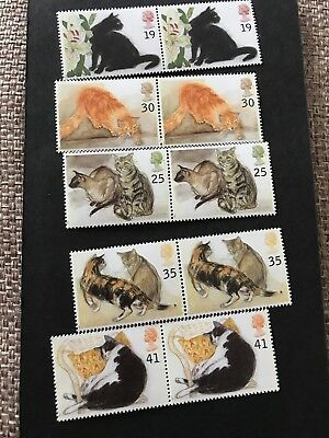 GB MNH STAMP SET 1995 Cats
