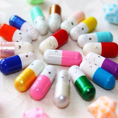 Pill With Small Letter Inside Love Paper Note For Gift Party Message Capsule 50x
