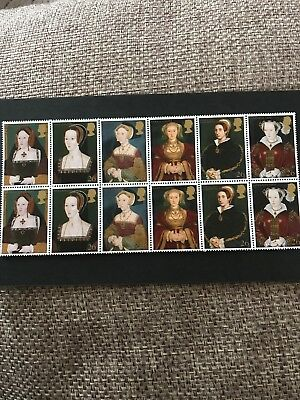 GB MNH STAMP SET 1997 Henry VIII Wives
