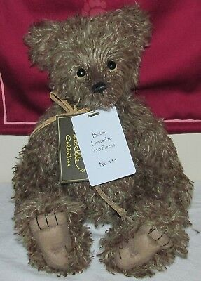 SPECIAL OFFER! 2018 Charlie Bears Isabelle Mohair BUBSY No. 135 of 250 RRP £140