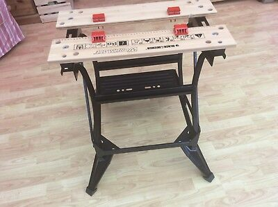Black and Decker WM536 Dual Height Workmate Steel Construction