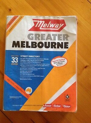 Melway. Greater Melbourne.   Edition 33.  2006
