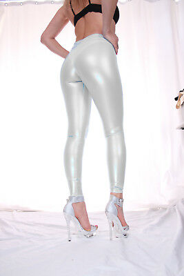 TRIALLAB TRANSPARENT LucidRubber CAMELTOE Leggings HL2AX - Weiss - S