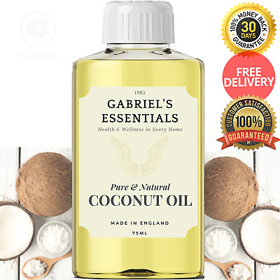 Coconut Oil for Hair 100% Pure (Cosmetic/Food Grade) 50ml/100ml/500ml