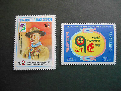Bangladesh 1982 set for Baden-Powell & Scout Anniversaries MNH (see photo)