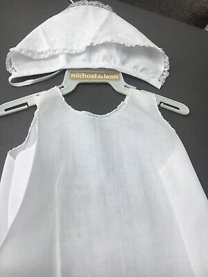 Vintage Christening Gown/Petticoat