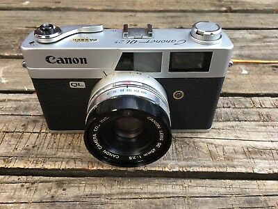 Canon Canonet QL-25 35mm Ranger Finder Film Camera