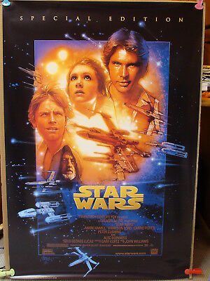 STAR WARS Trilogy Special Edition 1-sheet Movie Poster 1997 Set 4 Posters rolled