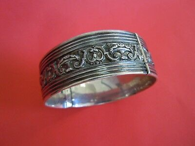 Faberge Antique Imperial RUSSIAN SILVER 84 BRACELET  19th century